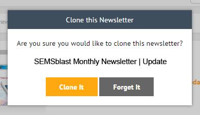 Cloning a Newsletter 3